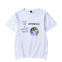 ASTROWORLD moda divertente t-shirt stampate estate sport hip hop uomo donna t shirt casual top tee shirt manica corta t-shirt 4XL