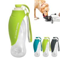 FML Pet Feeder Спорт Портативный Бутылка воды Собака расширяемый Силиконовые Путешествуя Dog Bowl Для Puppy Кошки Диспенсер питьевой воды