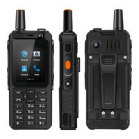 4G Walkie Talkie celular FDD / TDD LTE Walkie Talkie Mobile Phone 5MP câmera traseira Zello UNIWA Android F40