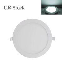 Light Panel UK Archivio 24W ultra sottile rotonda del soffitto LED incasso Downlights Apparecchio bianco freddo per la cucina Soggiorno Uso Domestico