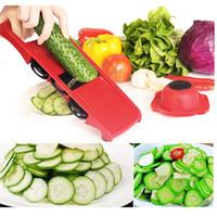 HOT cortador Venda de legumes com lâmina de aço Mandoline Slicer Potato Peeler Cenoura Ralador de Queijo Vegetal Slicer Acessórios de cozinha
