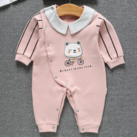 baby clothes factory direct sales 2019 new spring cotton rom...