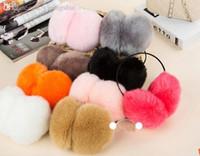 Wholesale-1 PC nette Damen Winter Earmuffs Earwarmers Ear Muffs Earlap Warmer Stirnband