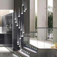 현대 샹들리에 LED 펜던트 램프 철 금속 조명기구 패션 거실 장식 레스토랑 식당 식당 주방 펜던트 조명 156