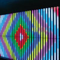 LED النيون أنبوب 16Pixels / M اللون كامل SMD5050 RGB LED الرقمية شاشة LED DMX512 IC DMX تحكم + 2PCS محول الطاقة
