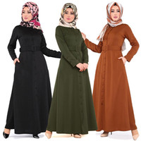Roupas étnicas Bangladesh Abayas para as mulheres Árabe Djelaba Femme Dubai Abaya Robe Cafa Marocain Kaftan Islâmico Vestido Muçulmano