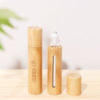 Fabrik Droprollenkugelunter Flasche Essenz-Öl Flasche Massagerolle Verpackung Flasche portable Reise Probe B2401 Parfümflasche