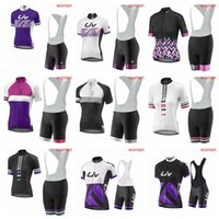 782c4217f29 Wholesale jerseys direct for sale - Group buy LIV summer women Cycling  Short Sleeves jersey bib