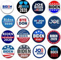 18 Estilos Joe Biden broche 2020 de Estados Unidos Elección Presidencial Biden insignia de hojalata Elección Pin BIDEN voto de partido Broche regalos de los favores D7204