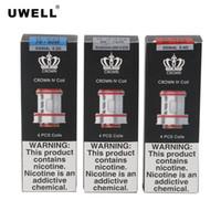 Uwell Crown 4 IV Bobina 0.2ohm 0.4ohm SS904L Dupla Bobinas UN2 Núcleos de Substituição de Malha 0.23ohm Para Crown 4 Tanque Atomizador 100% Autêntico