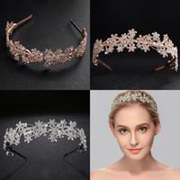 Matrimonio Moda Capelli Gioielli Ragazze Strass Blingbling Bridal Headpieces Corona Strass Accessori per capelli da sposa per matrimoni CPA3161