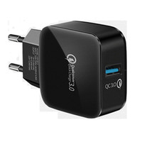 QC 3. 0 fast travel charger USB quick charge 5V 3A 9V 2A 12V ...