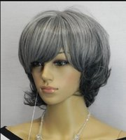 WIG LL Free Shipping> > > New wig Cosplay party black...