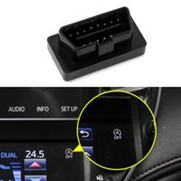 Auto Auto-Stop Start Motor Systemausschaltfunktion Device Control Sensor OBD-Stecker Innen Zubehör für Toyota Crown S210 S220 2012-2020