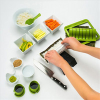 New Sushi Making Kit DIY Easy Sushi Maker Machine Set Rice R...