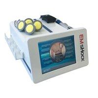 Vacío Estimulación muscular eléctrica EMS y Terapia de onda de choque Tratamiento de dolor Fisioterapia Terapia de onda de descarga para ED Tratamiento