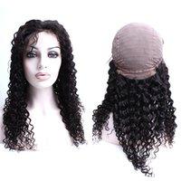 Parrucca anteriore del pizzo del pizzo del merletto di onda riccia Bellahair capelli brasiliani Deep Curly Wave Capelli per capelli per le donne nere Julienchina