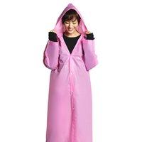 여행 아웃 도어 레인 코트 쉬운 수행 위치 레인 코트 바람 코트 EVA 여성 후드 레인 코트 방수 투명 외투의 일종 하이킹
