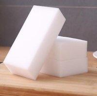 100 * 60 * 20mm magia blanca de la melamina esponja esponja de limpieza Borrador de múltiples funciones sin embalaje bolso del coche Limpieza de la Casa Herramientas SN947
