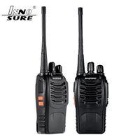 의 professinal 보풍 BF-888S 무전기 5W 휴대용 BF의 888s UHF 5W 400-470MHz 16 채널 양방향 휴대용 스캔 모니터 햄 민간 라디오