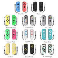 Gamepad LED Kablosuz Bluetooth Joystick için NS Konsol Joy-Con Joystick Oyun Kontrolörleri Oyun Pad Oyun Aksesuarları T191227 geçiş