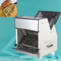 Pain de commerce Elrctric Machine à Trancher trancheuse Toast de pain Acier inoxydable coupe fabricant machine à pain automatique