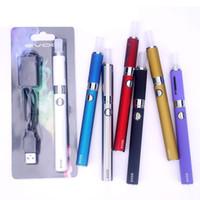 EVOD MT3 E Zigarette Kit Vape Pen Cartridges 650 900 1100 mAh Batterie Blister Starter Kits Ölpatrone Dab Pen Wax Vaporizer leeren