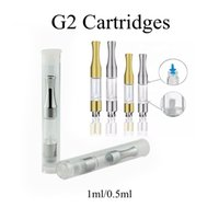G2 Cartridge Vape Tank 0. 5ML 1. 0Ml Atomizer Ecig Cartridge G...