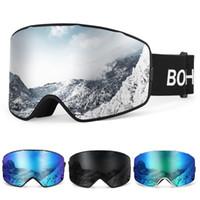 2020 نمط جديد UV400 نظارات التزلج على الثلج OTG الرياضة نظارات المضادة للضباب على الجليد تسلق حملق رجل إمرأة نظارات تزلج
