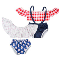 Kids Swimwear Cartoon Baby Girl Clothes 2PCS Bathing Suit To...