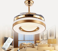 Затемнение Пульт дистанционного управления 42inch LED Потолочные вентиляторы Свет с изменяемым Свет Потолочные вентиляторы 220V 110V для домашнего декора MYY