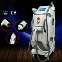 Haute qualité épilation IPL machine professionnelle SHR / IPL SHR OPT Machine / laser + RF + pico lifting visage de détatouage épilation