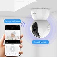 720P 1080P Главная Безопасность Беспроводные камеры Главная Смарт WiFi удаленной сети камеры наблюдения 360 HD ИК-монитор