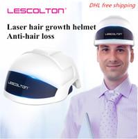 Capacete de crescimento do cabelo Laser LBI com 26 Laser Lâmpadas 30 LED infravermelho Lâmpadas rápido crescimento do cabelo para as Mulheres Homens Cabelo Crescimento Chapéus Helment