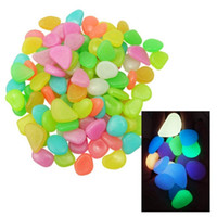 Glow in The Dark Garden Pebbles stone Luminous Pebbles Outdo...