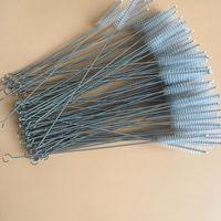 Pincéis de aço inoxidável pincel de aço inoxidável escovas de água bebê escovas de limpeza resumíveis ferramentas domésticas 23cm 200pcs ywy2823