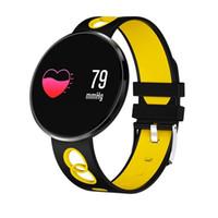 Pressão CF006H Pulseira inteligente Sangue Heart Rate Monitor relógio inteligente Passometer impermeável de Fitness Rastreador de pulso iPhone Android Para