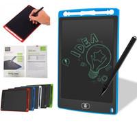 Бесплатный DHL 8,5-дюймовый ЖК-письменные планшеты Memo чертежный планшет Электронные графические платы для детей Цифровой блокнот Pad с ручкой для офиса дома