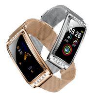 Smart-Armband Ovulation-Monitor Physiologische Zeitraum Erinnerung Smart Watch Blutdruck Blut-Sauerstoff-Monitor-Armbanduhr für Android iOS