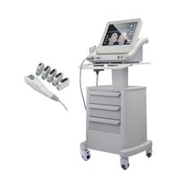 خمس رؤساء طبي HIFU الوجه رفع عالية الكثافة التركيز الموجات فوق الصوتية هيفو آلة التخسيس مع عمق مختلفة 1.5 ملليمتر 3.0 ملليمتر 4.5 ملليمتر 8 ملليمتر 13 ملليمتر