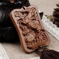 High Quality Wood Carving & Buddha Beads Chinese Buddhism Sh...