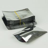 5 * 7см 100pcs / пакет серебра алюминиевой фольги мешок-алитирования простой мешочек, термически свариваются шоколадной упаковки карман, маска для лица упаковки мешков