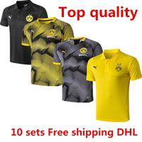 32fd4b4e4 New Arrival. Best wholesale newest Dortmund short sleeves jacket Gomez  Tshirt 2018 2019 tracksuits soccer jersey Gotze ...