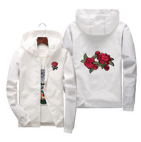 Rose Jacket Outerwear Windbreaker Male Female Fashion Jacket...