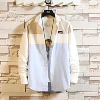 Nueva moda de verano y otoño de los hombres de la tela escocesa ocasional de la camisa para hombre de manga larga camiseta Slim Fit Male Casual Dress
