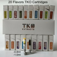 0. 8ml TKO Cartridges Empty Vape Cartridge Packaging 1ml Cera...