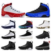 Gym Red Sonho isso, faça isso Racer homens azuis tênis de basquete 9s UNC LA treinadores desportivos Antracite Bred Sneaker tamanho 7-13