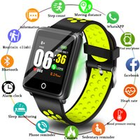 BANGWI 2019 Nuovi uomini donne Smart Sport Watch Fitness Tracker Pedometro Blood Pressure Blood Rate Blood oxy Monitor Smart Band + Box