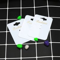 Hot sale 200pcs Paper Plastic Handmade With Fashion Jewelry Cards,Necklace Ring Pendant Packing Cards Jewelry Displays Cards