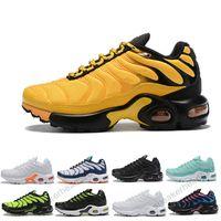 TN Plus Enfants 2019 Nouvelles chaussures enfants Chaussures de course Garçon Fille Enfant en bas âge Entraîneur Coussin Surface Respirant Sports top qualité tn baskets